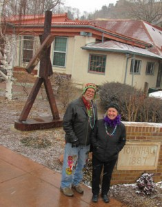 Coreen & Shanti Toll at Manitou Springs City Hall