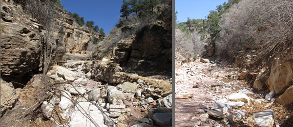 Rocky Road in Williams Canyon Manitou Springs