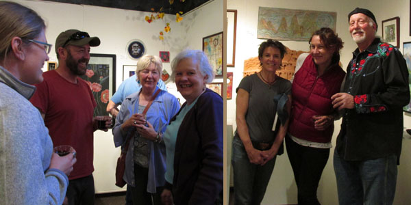 "Artists at ""Old Spokes"" in Commonwheel Artists Gallery"