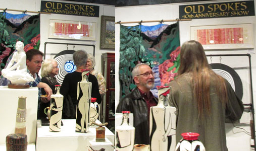 "Jeff Shook's Gong Show in ""Old Spokes"" at Commonwheel Artists Gallery"