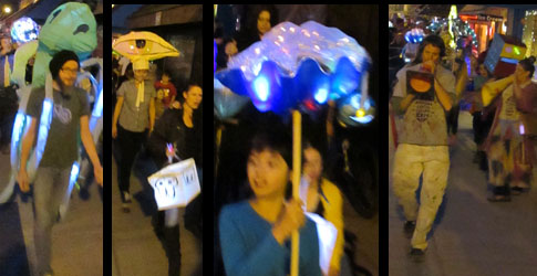 Lantern Parade in Manitou Springs