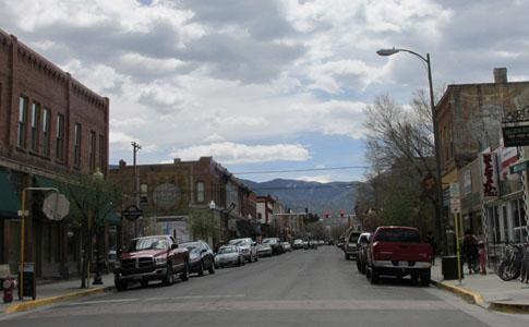 Downtown Salida Colorado