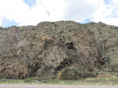 Grumpy Rock along the Arkansas River