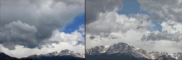 Cloud Drama on Pikes Peak