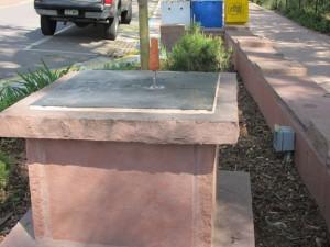 MSAC Sculpture Stalled Instalation
