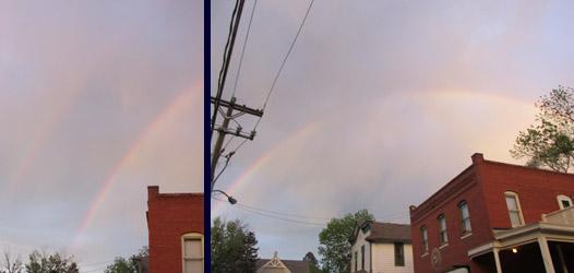 Rainbow in Manitou Springs
