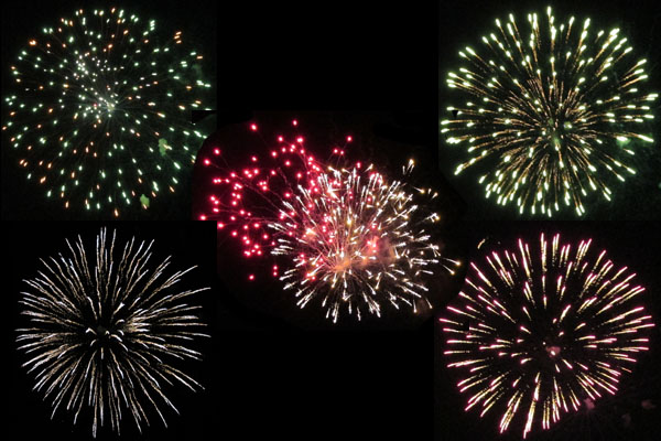 4th of July Fireworks in Manitou Springs