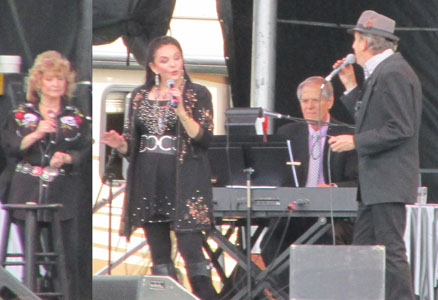 Crystal Gayle & Friends in Concert  at Young Living Lavender Farm in Utah