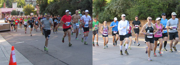 Pikes Peak Ascent Runners 2014 in Manitou Springs