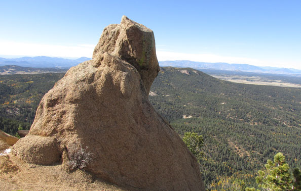 Crags Rock with 360 View