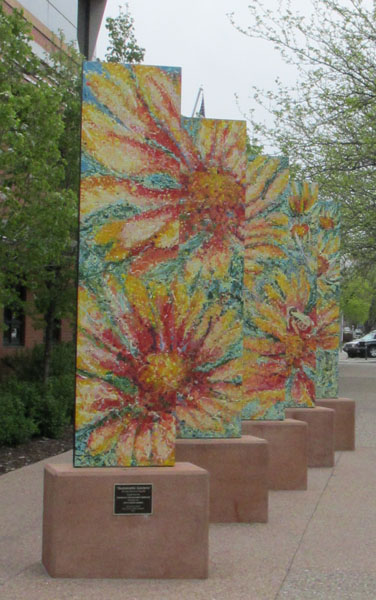Spring Garden Mural in Ft. Collins Creative District
