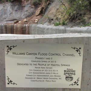 Dedication Plaque Phase 1 2 Flood MitigationComplete